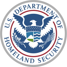 Seal of the Dept of Homeland Security