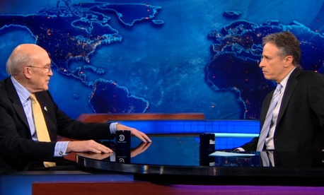 Alan Simpson on Daily Show with Jon Stewart