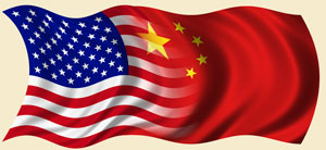 China-US flags 01