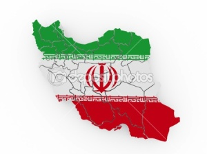 Map-of-Iran-in-Iranian-flag-colors
