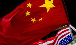 China - United States flags 5