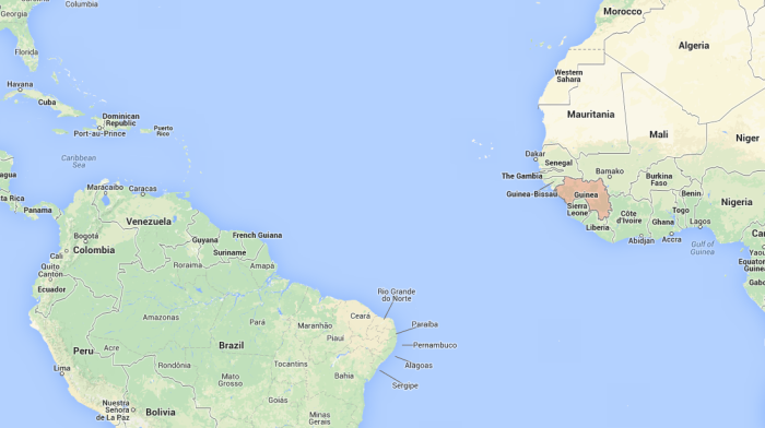 Guinea map 2