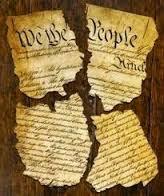 Constitution torn