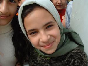 Young Iraqi girl