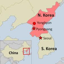 North Korea map 6