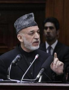 President Hamid Karzai reiterated his refusal to sign a pact that would allow some US troops to remain in Afghanistan after their formal withdrawal