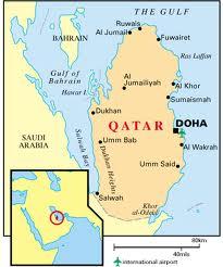 Qatar map 2