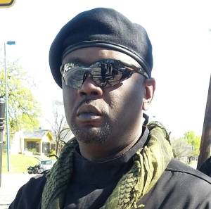 Babu Omowale, the so-called national minister of defense for the People's New Black Panther Party
