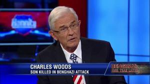 Charles Woods, father of Tyrone Woods