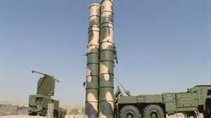 Russian built S-300 missile system