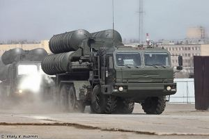 Russian S-400 Surface To Air Missile System