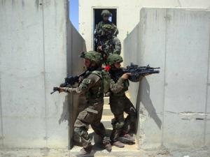 The IDF's Ze'elim training facility
