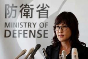 Japan's Defense Minister Tomomi Inada