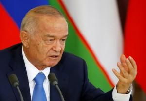 Uzbek President Islam Karimov in April 2016