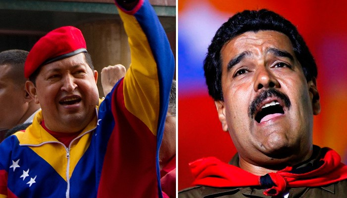 Venezuela's food shortages, hyperinflation, black marketeers, narcoterrorists and money launderers are unfortunate hallmarks of the legacy of Presidents Chavez (left) and Maduro (right).