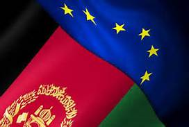 afghan-and-european-union-flags