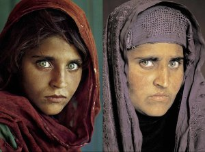 Sharbat Gula - then and now