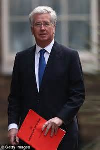 British Defense Secretary Michael Fallon
