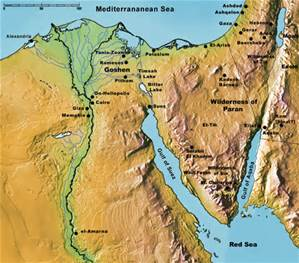 egypt-and-sinai-map