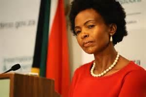 Foreign Minister Maite Nkoana-Mashabane