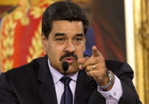 President Nicolas Maduro speaks in Caracas, Venuzuela