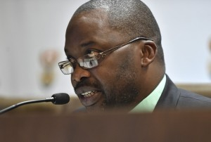 South Africa's minister of justice and correctional services, Michael Masutha
