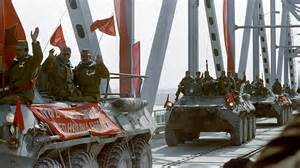 Soviet army invades Afghanistan