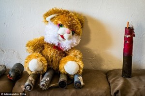 An innocent-looking teddy bear is actually a bomb meant for Iraqi children