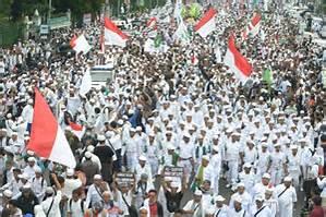 Mass rally in Jakarta