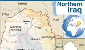 northern-iraq-map